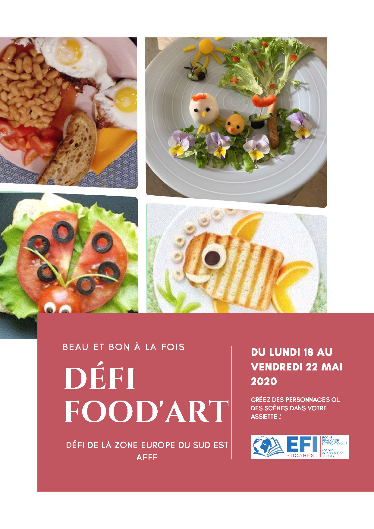 EFI Bucarest_AFFICHE FOOD'ART